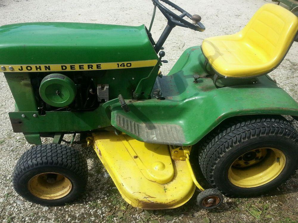 John Deere 140 Lawn Tractor | eBay