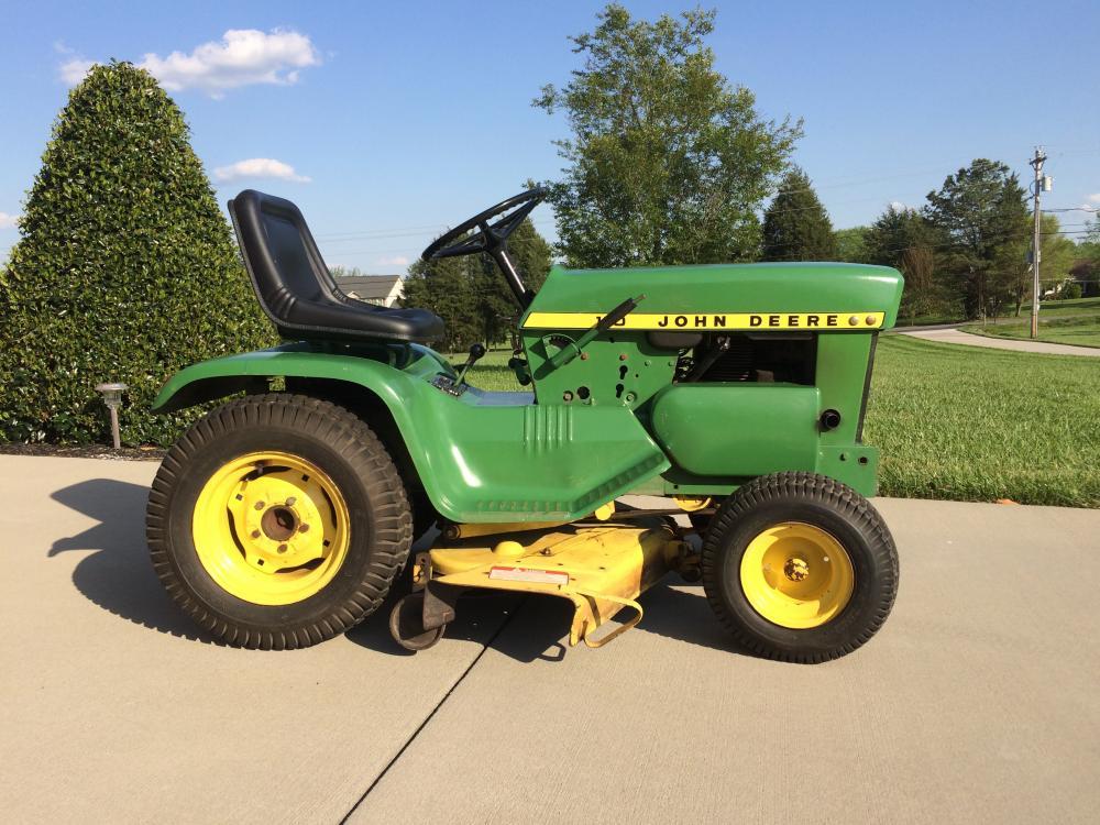 John Deere 110 Lawn/Garden Tractor - Tractors - GTtalk