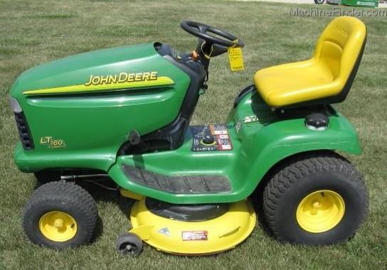 2002 John Deere LT160 - Lawn & Garden Tractors - John ...