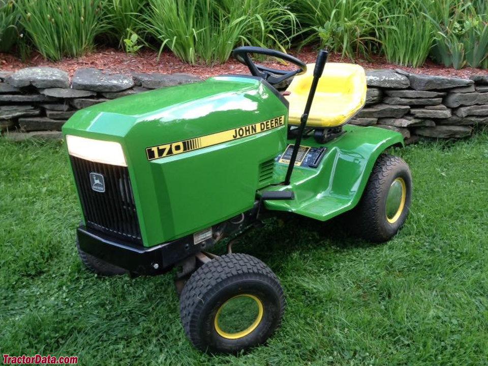 TractorData.com John Deere 170 tractor photos information