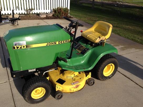 1989 John Deere 170 Lawn & Garden and Commercial Mowing ...