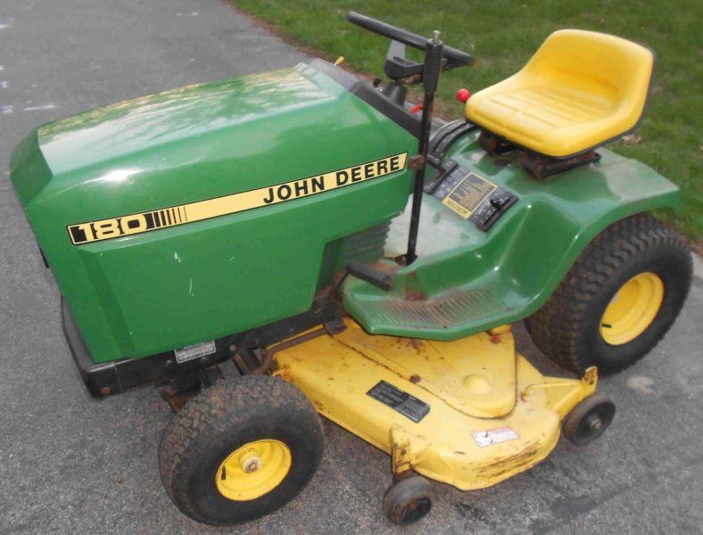 John Deere 180 Lawn Tractor - For Sale Classifieds