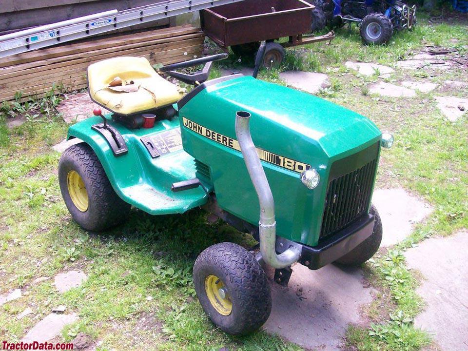 TractorData.com John Deere 180 tractor photos information