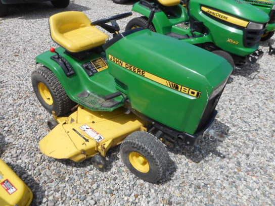 1987 John Deere 180 - Lawn & Garden Tractors - John Deere ...
