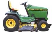 TractorData.com John Deere GT242 tractor photos information