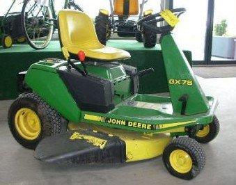 JOHN DEERE GX70 GX75 GX85 SX85 GX95 SRX75 SRX95 RIDING ...