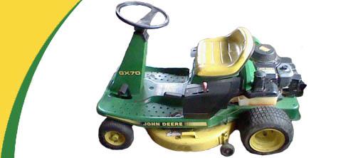 John Deere GX70 Lawn Mower Parts