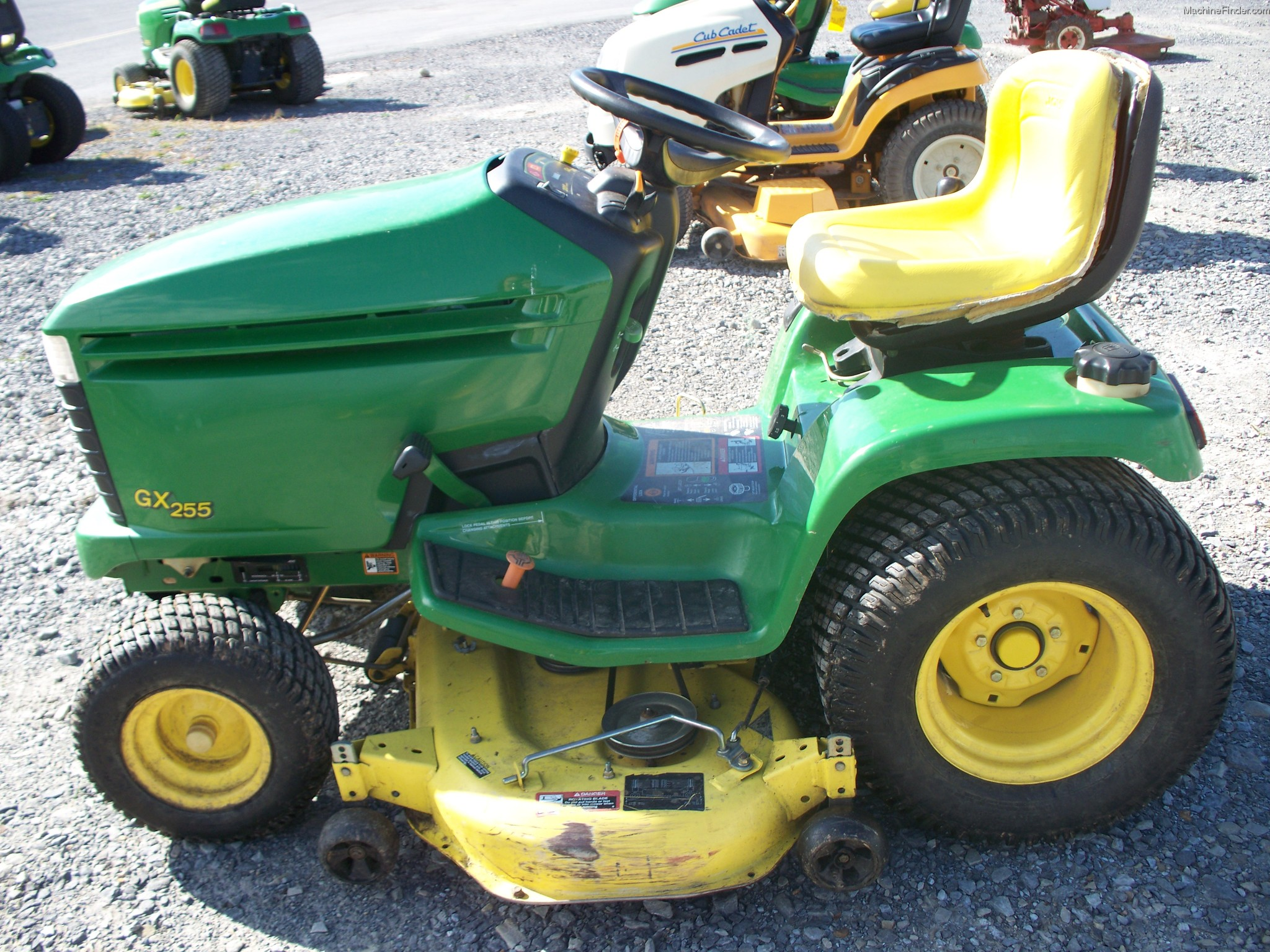 John Deere GX255 Lawn & Garden and Commercial Mowing ...