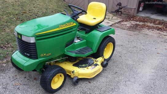 2003 John Deere GX325 Lawn & Garden and Commercial Mowing ...