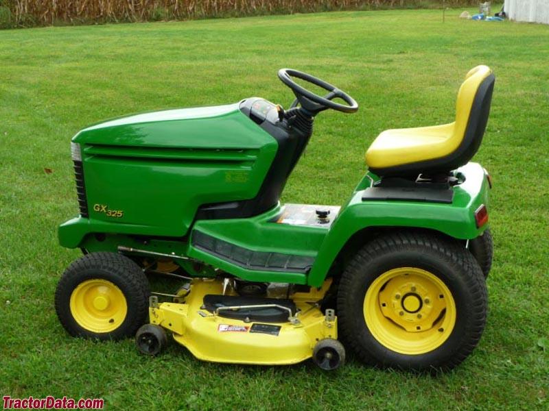 TractorData.com John Deere GX325 tractor photos information