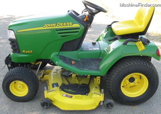 John Deere Tractors » John Deere X465 Lawn and Garden ...