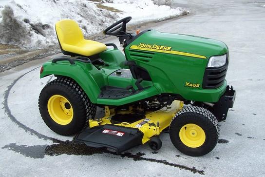 2004 John Deere X465 Lawn & Garden and Commercial Mowing ...