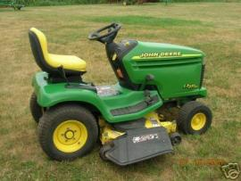 Cost to Ship - JOHN DEERE LX277 AWS RIDING LAWN TRACTOR ...