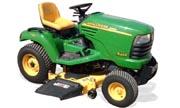 TractorData.com John Deere X465 tractor information
