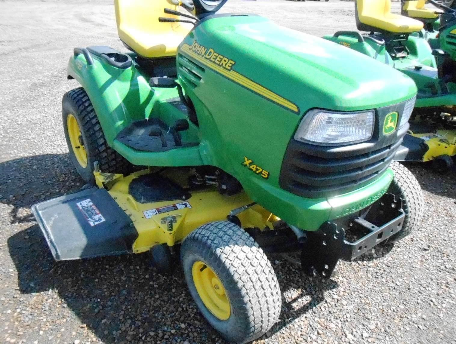 Wisconsin Ag Connection - JOHN DEERE X475 Riding Lawn ...