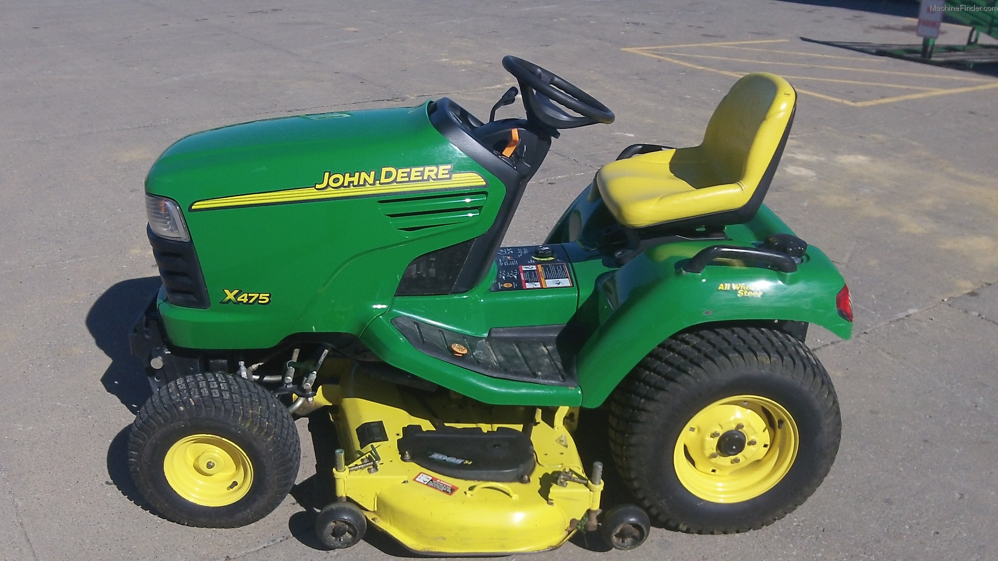2004 John Deere X475 Lawn & Garden and Commercial Mowing ...
