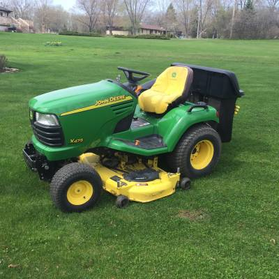 2005 John Deere X475 For Sale : Used Tractor Classifieds