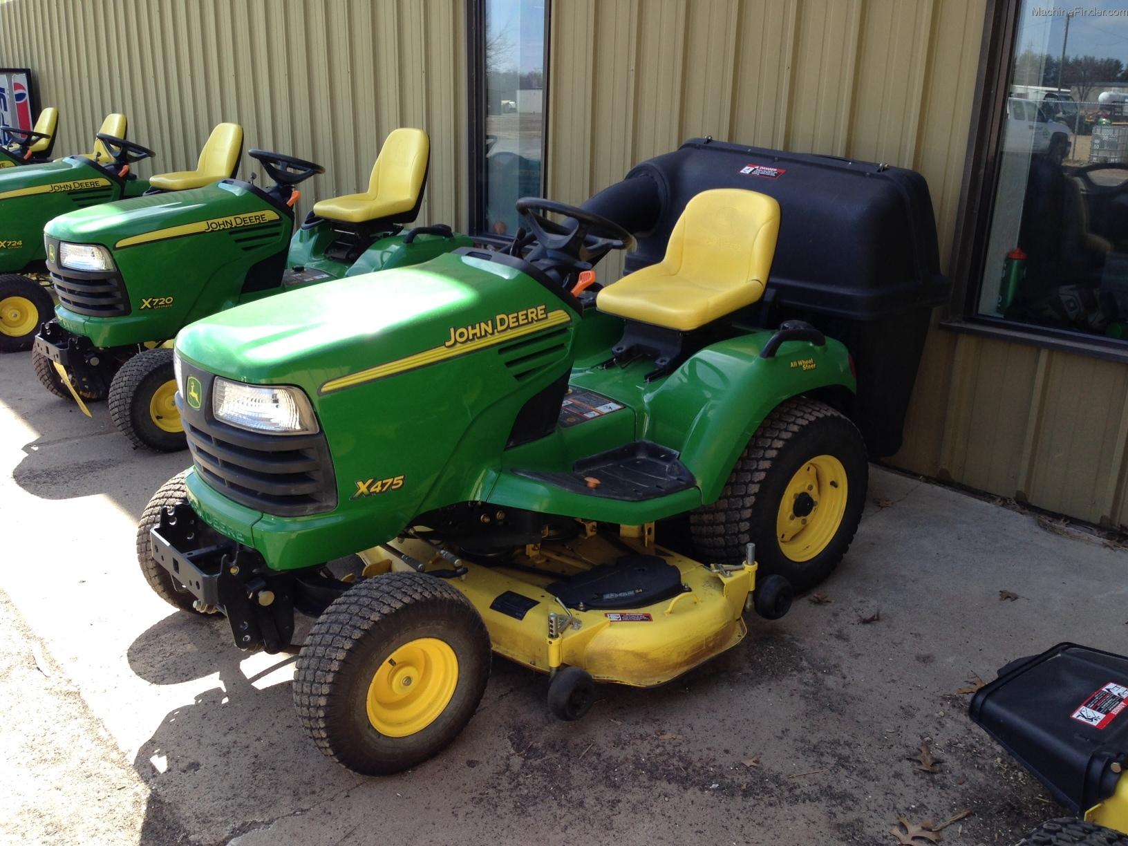 2002 John Deere X475 Lawn & Garden and Commercial Mowing ...