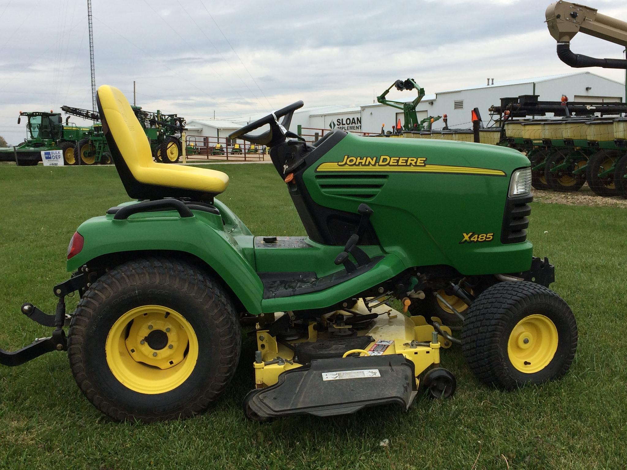 John Deere X485 Lawn & Garden Tractors for Sale   [52326]