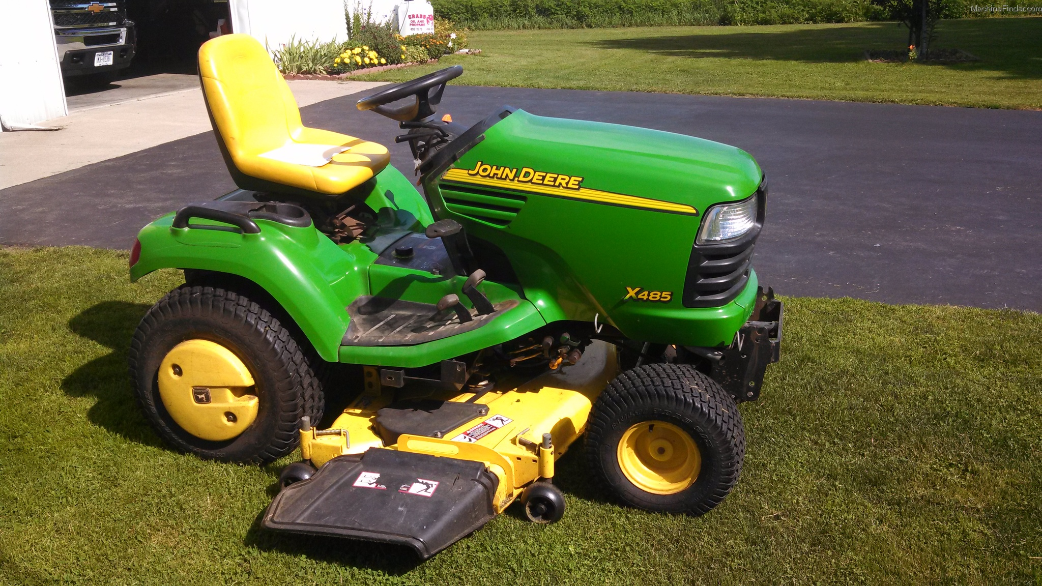 2003 John Deere X485 Lawn & Garden and Commercial Mowing ...