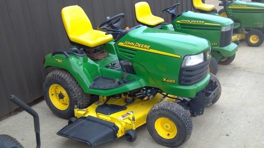 2003 John Deere x485 AWS 62'' Deck Lawn & Garden and ...