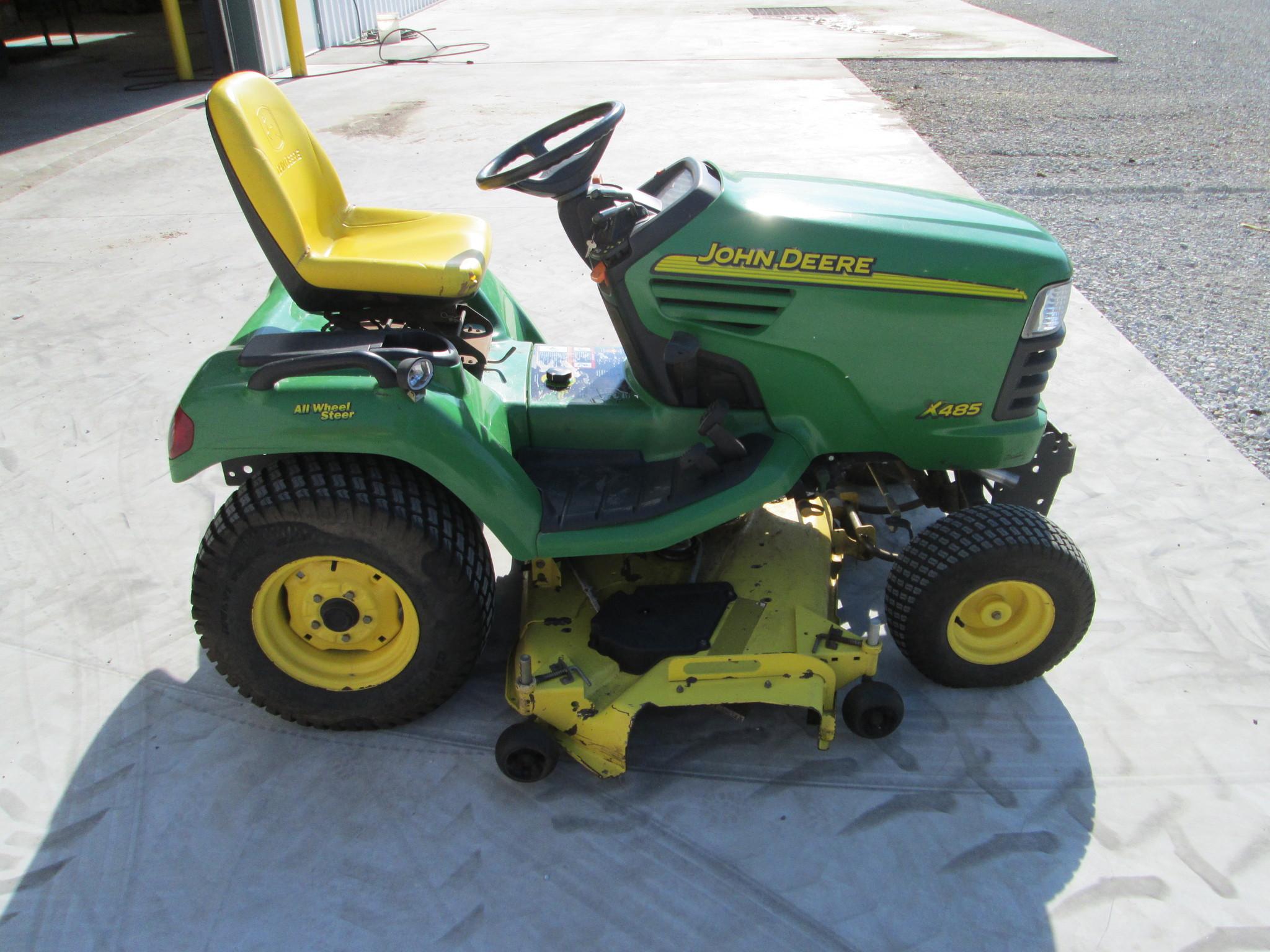 John Deere X485 Lawn & Garden Tractors for Sale | [49332]