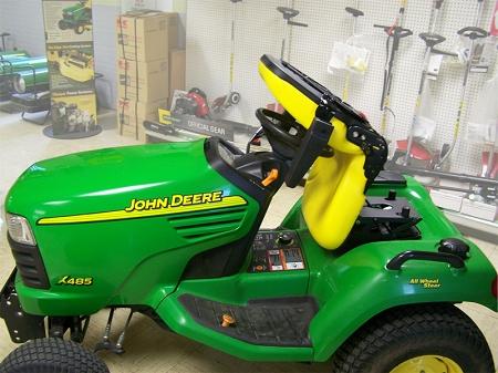 John Deere X400 X500 X700 HD Garden Tractor Seat With Armrests