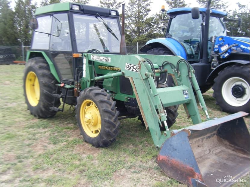 TractorData.com John Deere 2100 tractor information