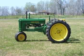 Used Farm Tractors for Sale: John Deere B $2200 (2004-05 ...