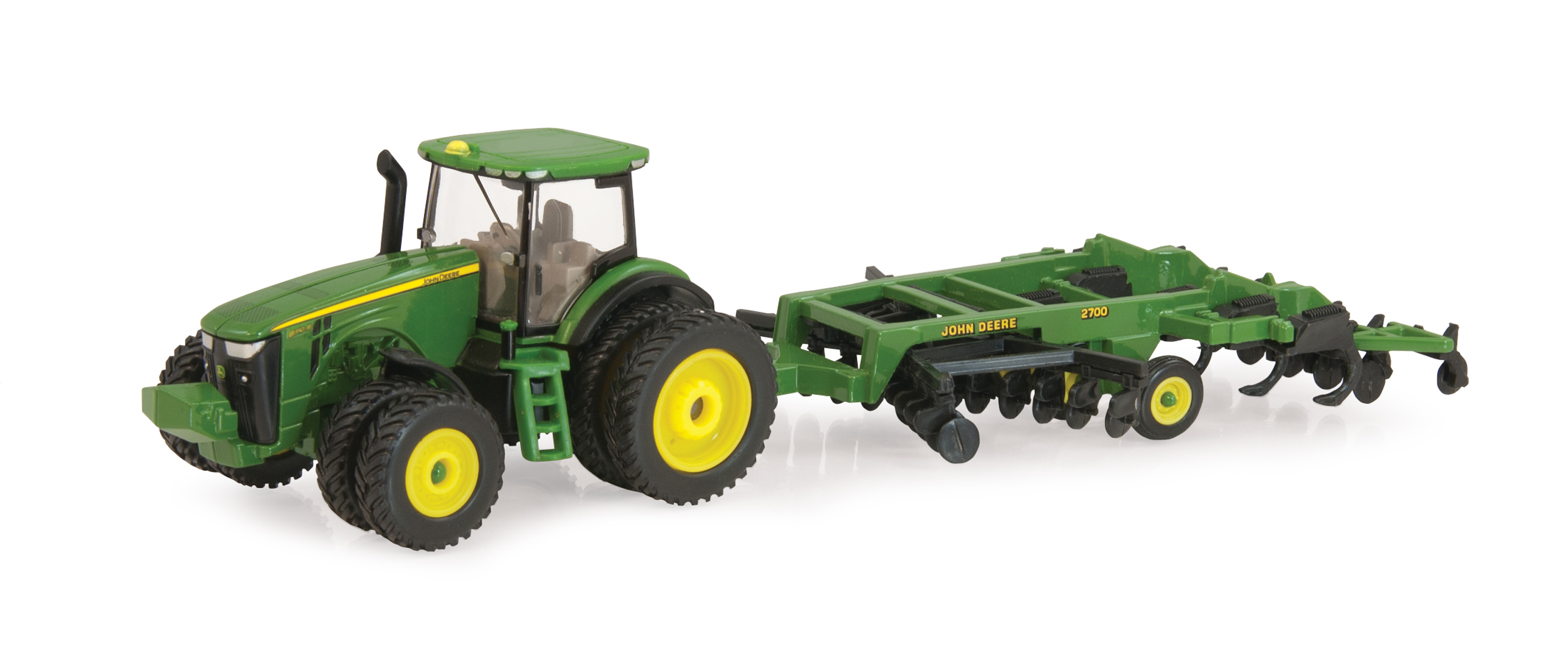 John Deere 8285R Tractor with 2700 Mulch Ripper | Down On ...