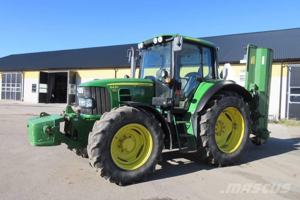 Used John Deere 6430 Premium, 2800 tim tractors Year: 2008 ...