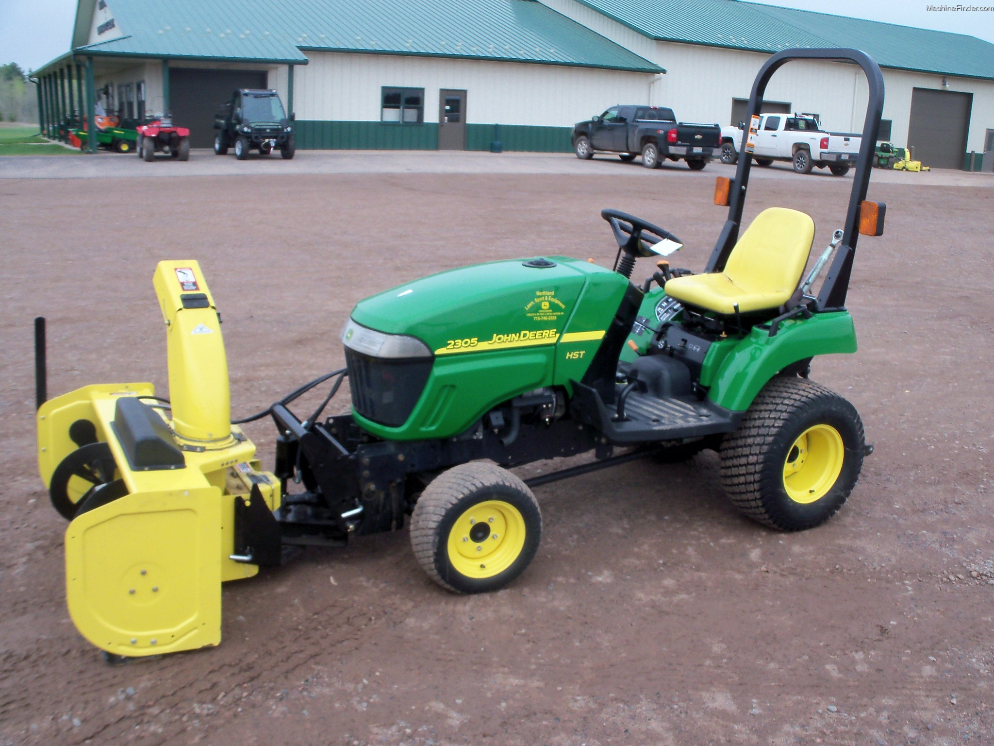 2007 John Deere 2305 Tractors - Compact (1-40hp.) - John ...