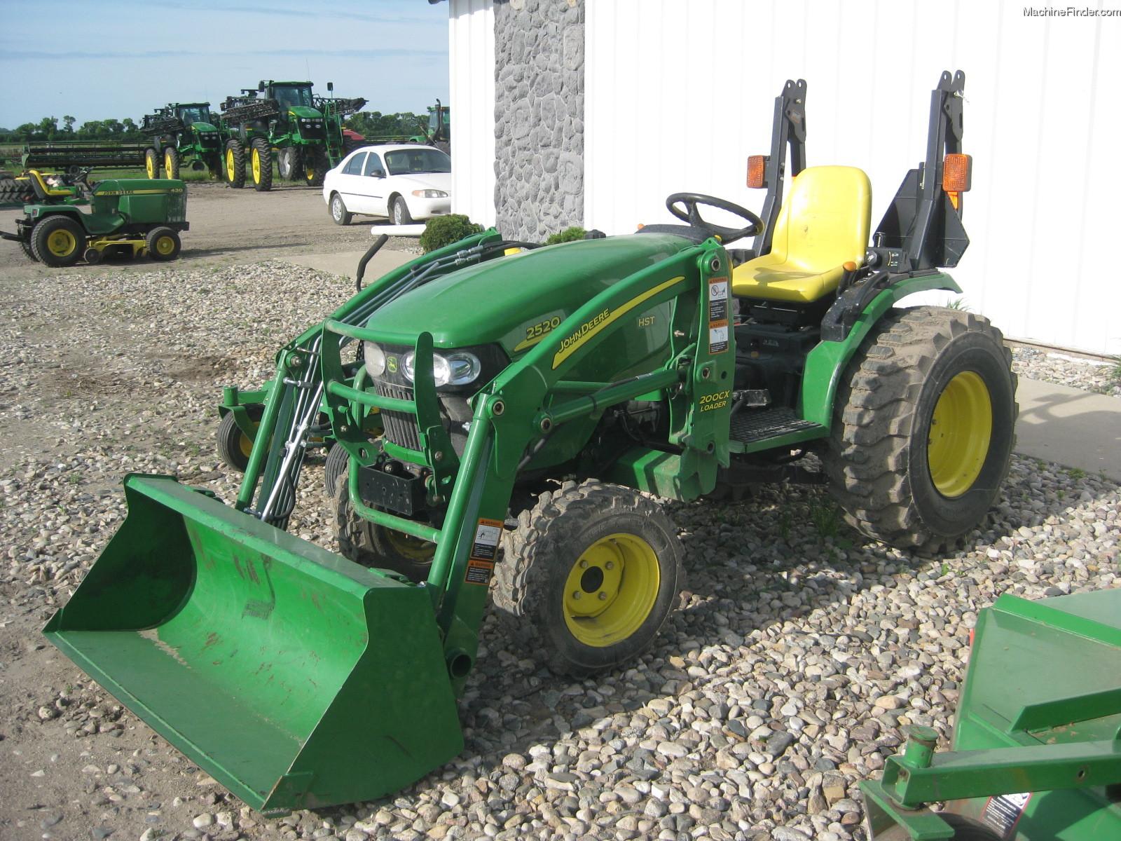 2008 John Deere 2520 Tractors - Compact (1-40hp.) - John ...