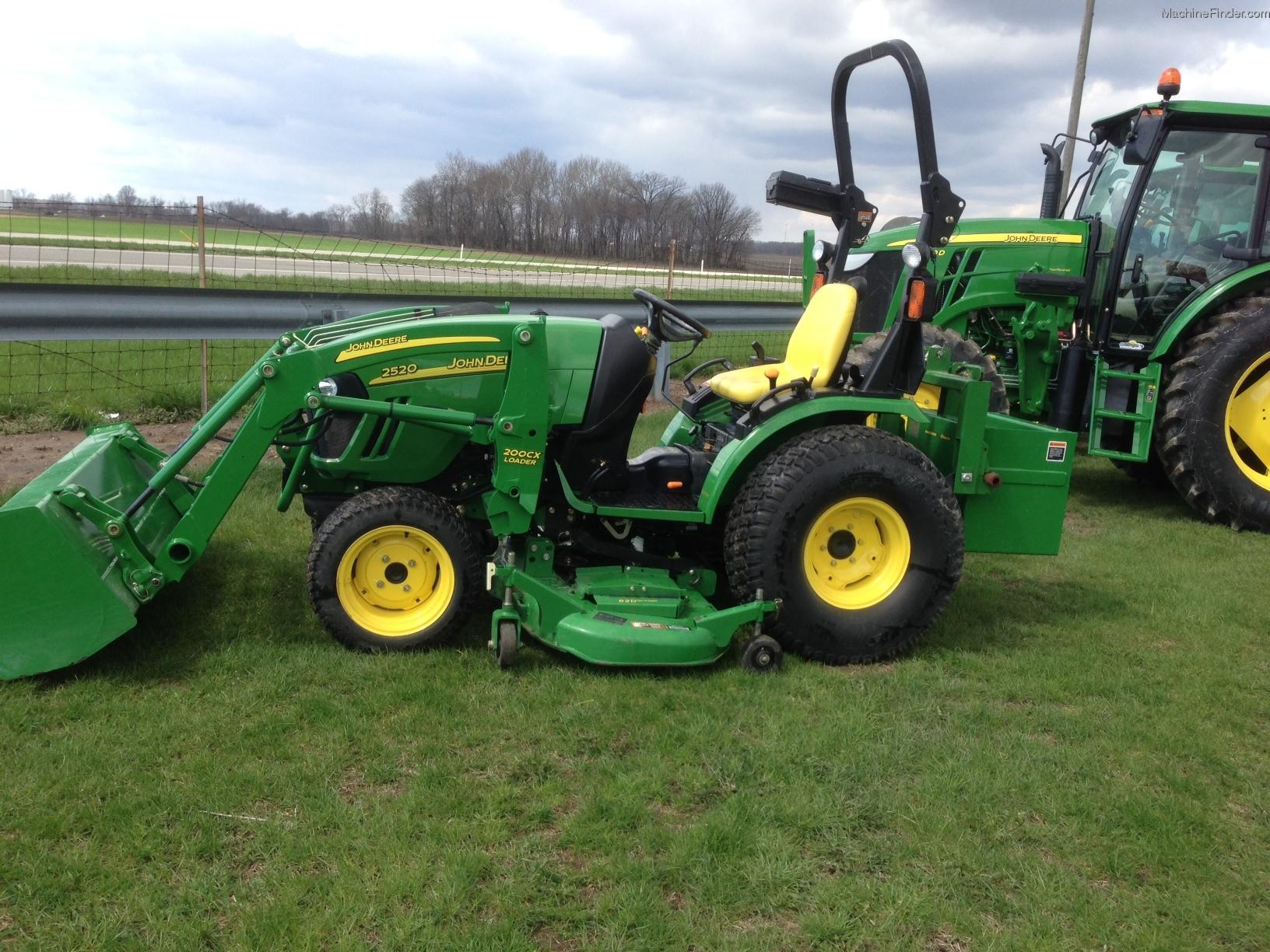 2007 John Deere 2520 Tractors - Compact (1-40hp.) - John ...