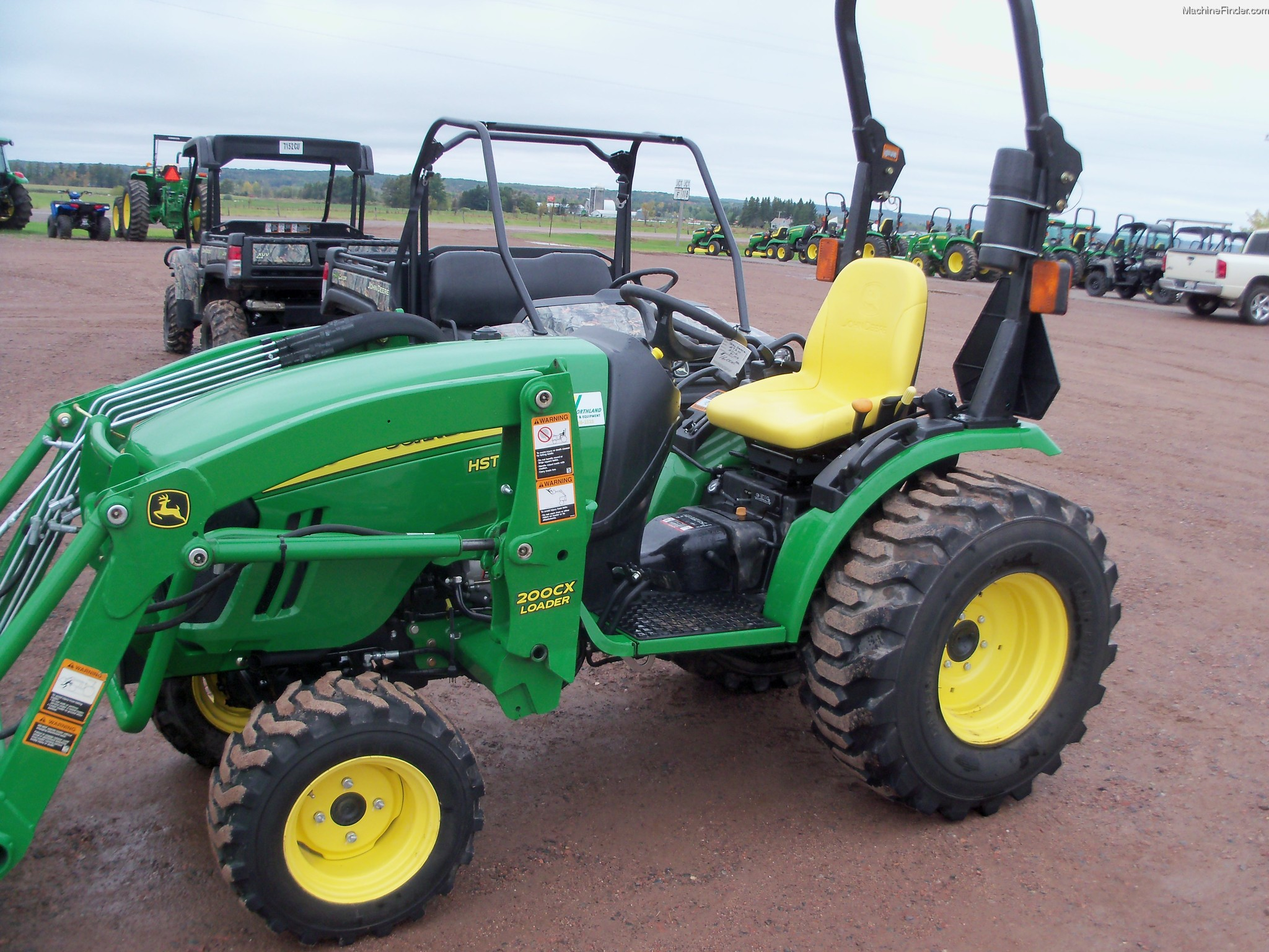 2008 John Deere 2720 CUT Tractors - Compact (1-40hp ...