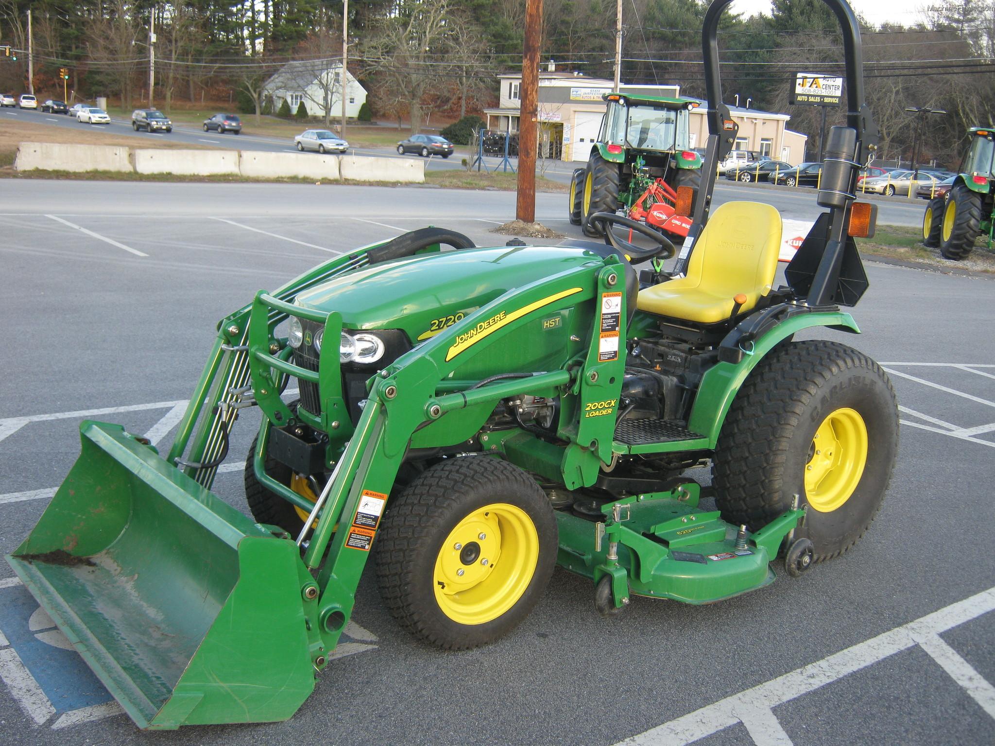 2010 John Deere 2720 CUT Tractors - Compact (1-40hp ...