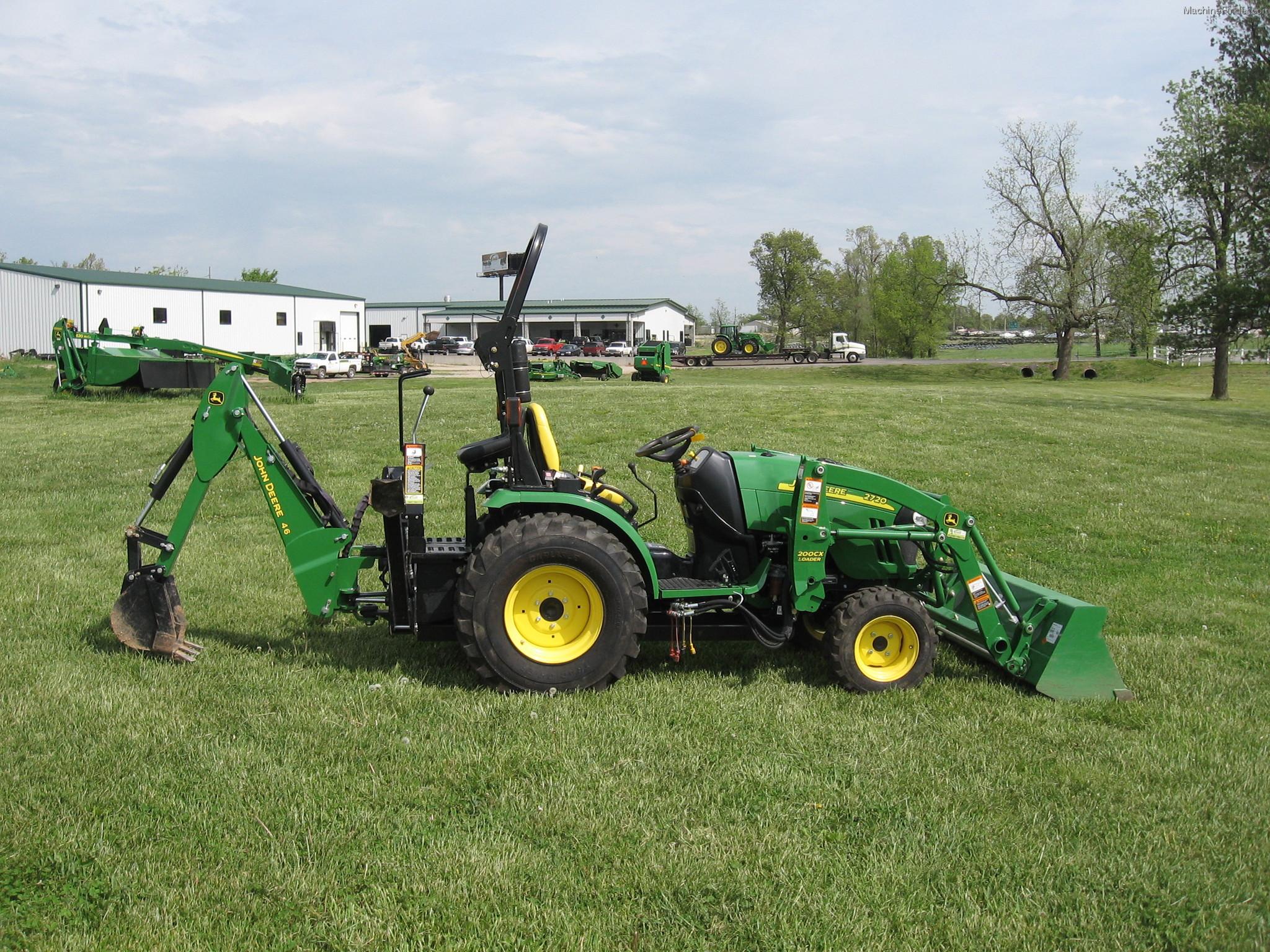 2012 John Deere 2720 CUT Tractors - Compact (1-40hp ...