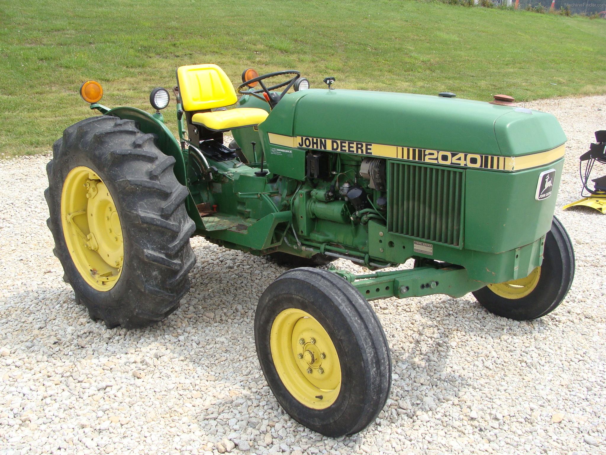 1981 John Deere 2040 Tractors - Utility (40-100hp) - John ...