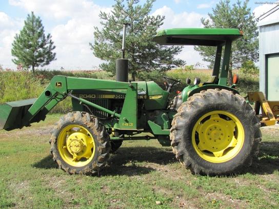 1982 John Deere 2040 Tractors - Compact (1-40hp.) - John ...