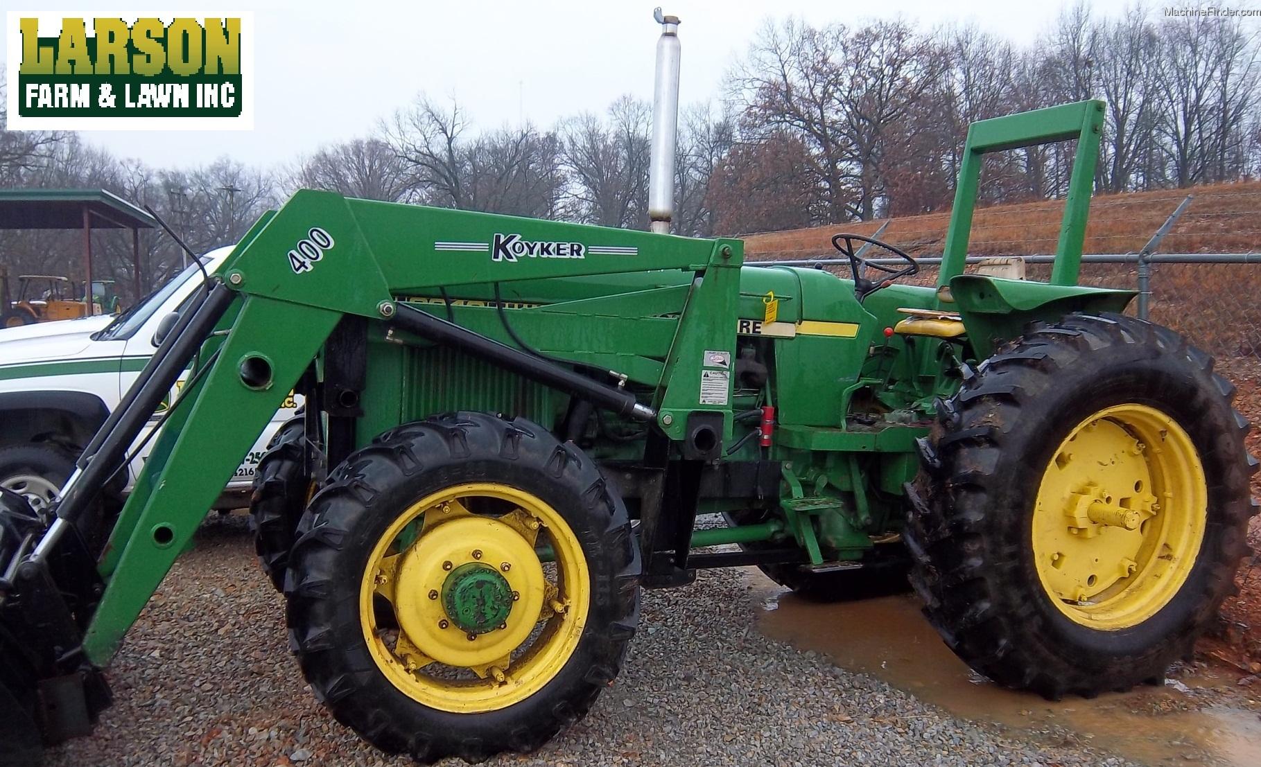 1980 John Deere 2940 Tractors - Utility (40-100hp) - John ...