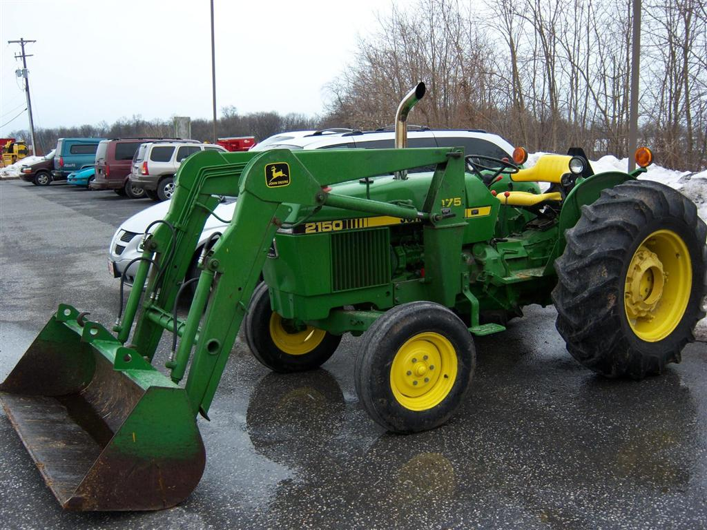 Used John Deere 2150