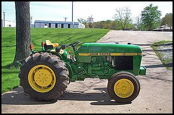 John Deere 2255 Attachments - Specs