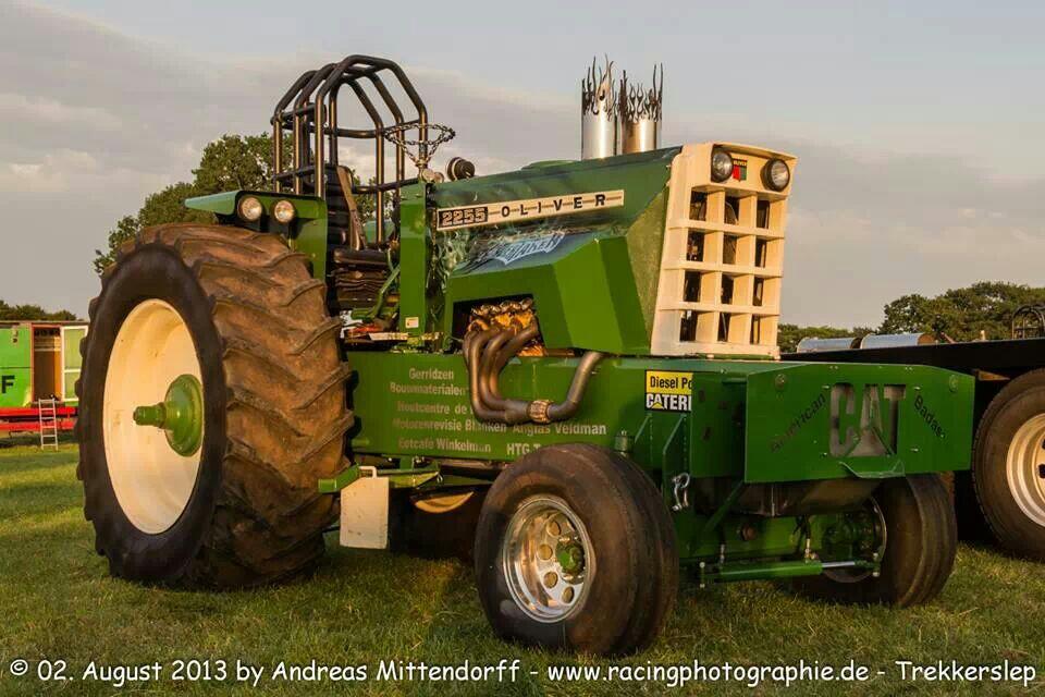 Oliver 2255 Pulling Tractor | Allis tractors | Pinterest ...
