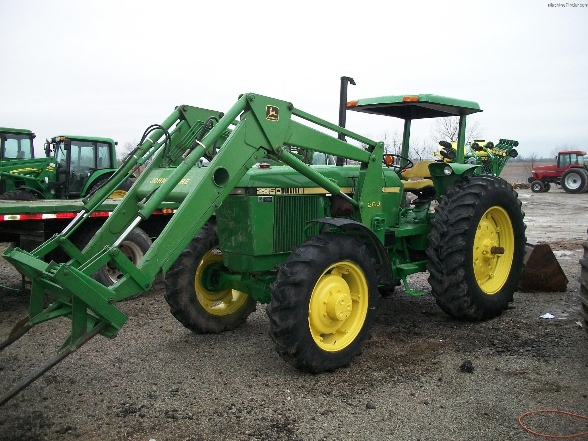 1984 John Deere 2950 Tractors - Utility (40-100hp) - John ...