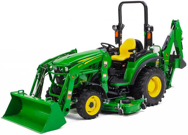 John Deere 2R Series Compact Utility Tractors | 2025R ...