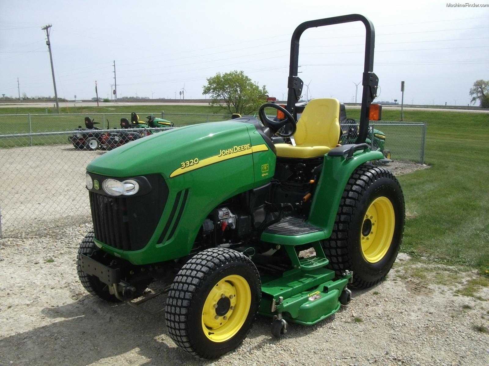 2008 John Deere 3320 Tractors - Compact (1-40hp.) - John ...