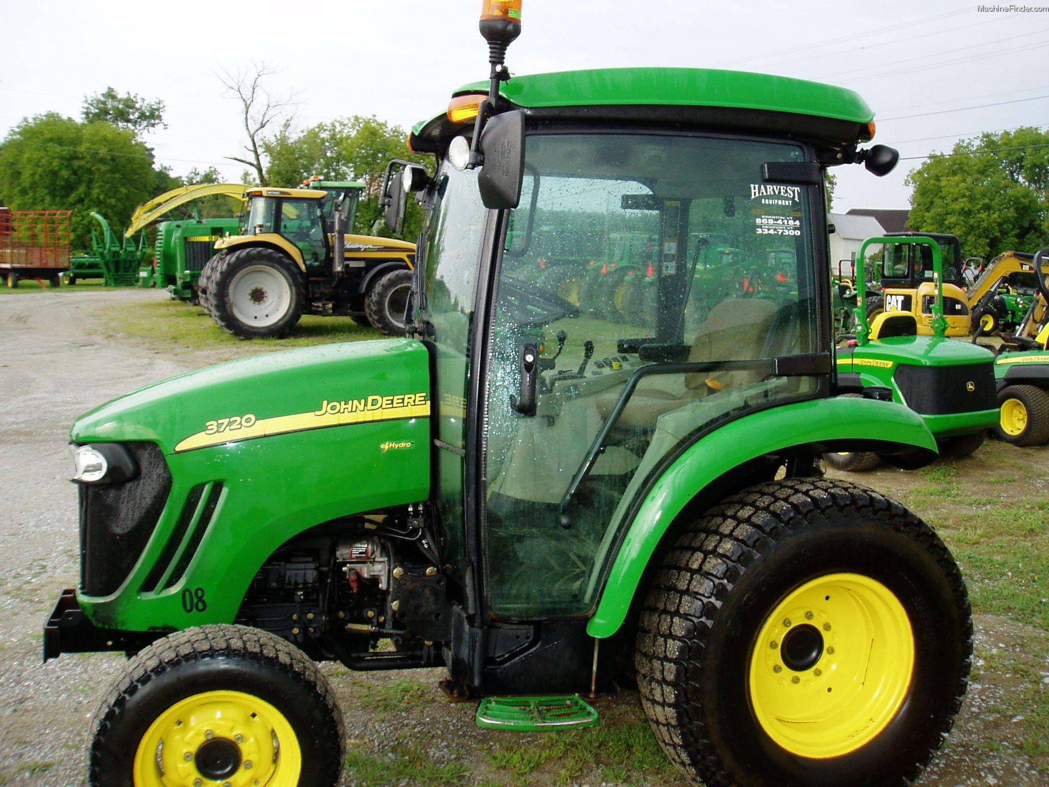 2008 John Deere 3720 Tractors - Utility (40-100hp) - John ...