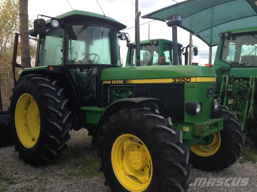 Used John Deere 3350 tractors Year: 1992 for sale - Mascus USA