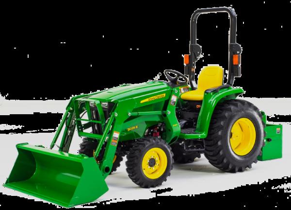A Look at John Deere's New 2032R, 2038R and 3025E Tractors