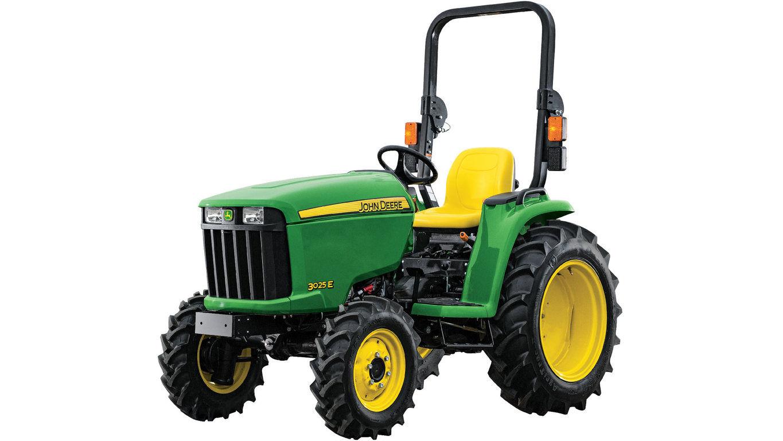 3 Family Compact Utility Tractors | 3025E | John Deere US